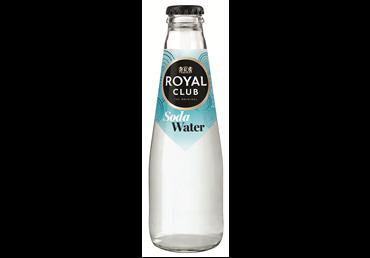 Gazuotas gaivusis gėrimas ROYAL CLUB SODA WATER, 200 ml