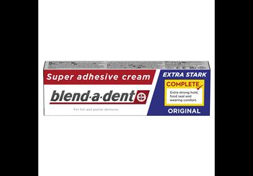 Dantų protezų kremas BLEND-A-DENT MILD MINT, 40 ml