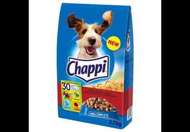 Visavertis šunų ėdalas CHAPPI su jautiena ir paukštiena, 2,7 kg