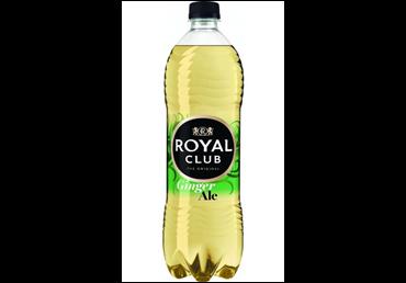 Gazuotas imbierų skonio gėrimas ROYAL CLUB, 1 l