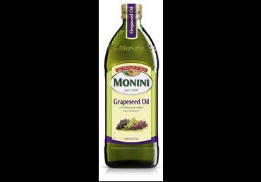 Vynuogių sėklų aliejus MONINI (rafinuotas), 1 l