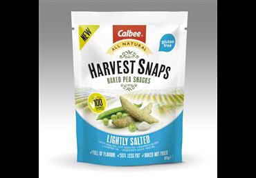 Silpnai sūrūs žirnių ir ryžių traškučiai HARVEST SNAPS, 85 g