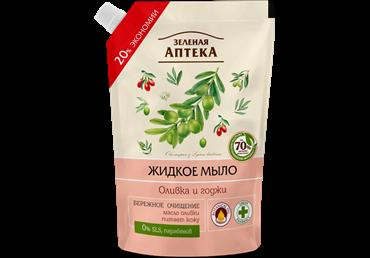 Skyst.kreminis muilas ZELIONAJA APTEKA(alyv.ir ožerškių kv.), 460 ml