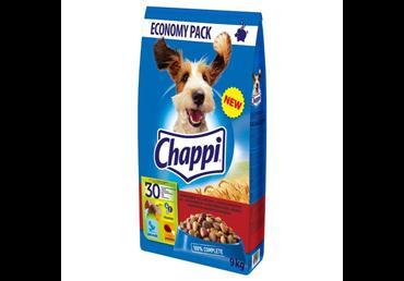 Visavertis šunų ėdalas CHAPPI su jautiena ir paukštiena, 9 kg