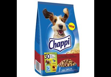 Sausas šunų ėdalas CHAPPI su jautiena ir paukštiena, 500 g