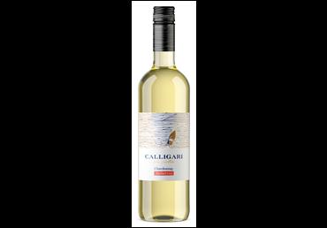 Nealkoholinis baltas vynas CALLIGARI SOLO SELETTIVO CHARDONNAY MEDIUM SWEET (0%), 750 ml