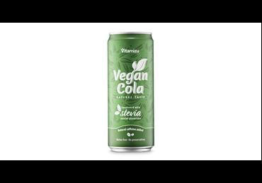 Gazuotas gėrimas VEGAN COLA, 330 ml
