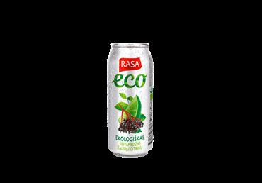 Ekol.gaz.šeivamedžių ir žaliųjų citrinų sk.gėrimas RASA ECO, 500 ml