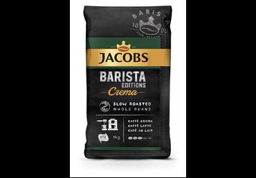 Kavos pupelės JACOBS BARISTA CREMA, 1 kg