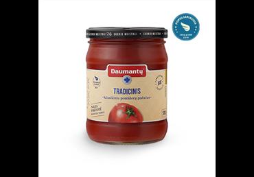 Klasikinis DAUMANTŲ pomidorų padažas (tradicinio skonio), 500 g