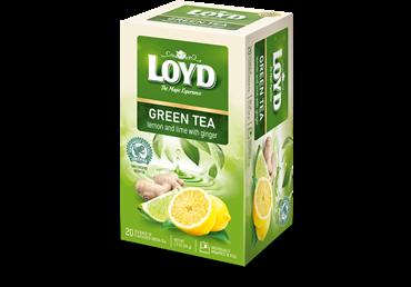 Žalioji arbata LOYD su citrinomis ir žaliosiomis citrinomis, 34 g