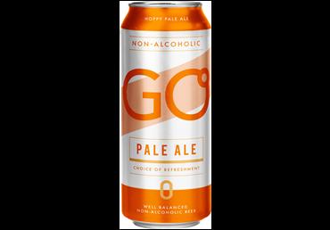 Nealkoholinis šviesusis alus GO PALE ALE (0,5%), 500 ml