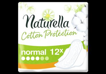 Higieniniai paketai NATURELLA COTTON SINGLE NORMAL, 12 vnt.