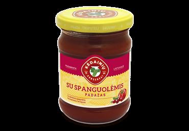 KĖDAINIŲ KONSERVŲ FABRIKO pomidorų padažas su spanguolėmis, 280 g