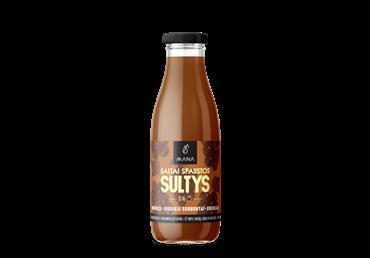 Morkų, obuolių ir juodųjų serbentų sultys MANA, 750 ml