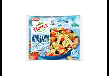 Graikiškos šaldytos daržovės HORTEX kepti, 400 g
