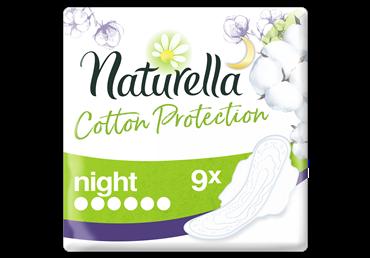 Higieniniai paketai NATURELLA COTTON SINGLE NIGHT, 9 vnt.